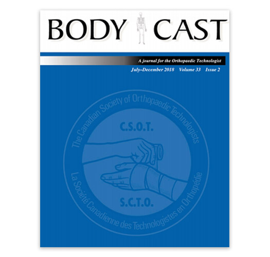 BodyCast Journal - The Official Journak of the CSOT