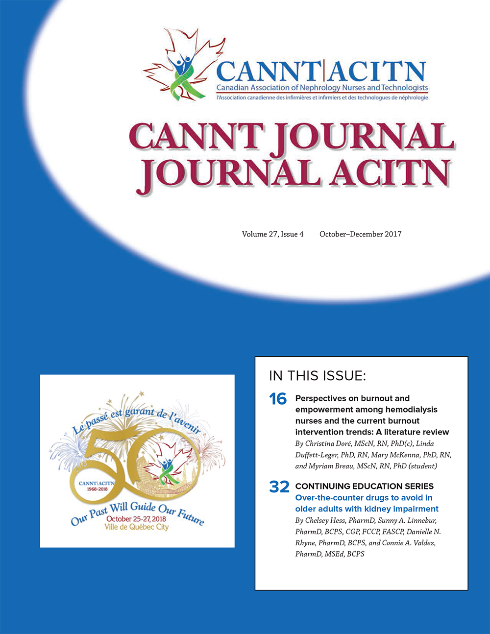 CANNT Journal cover