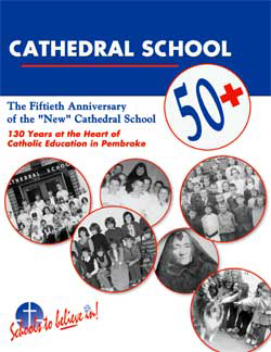 Cathedral School's 50th Anniversary book cover
