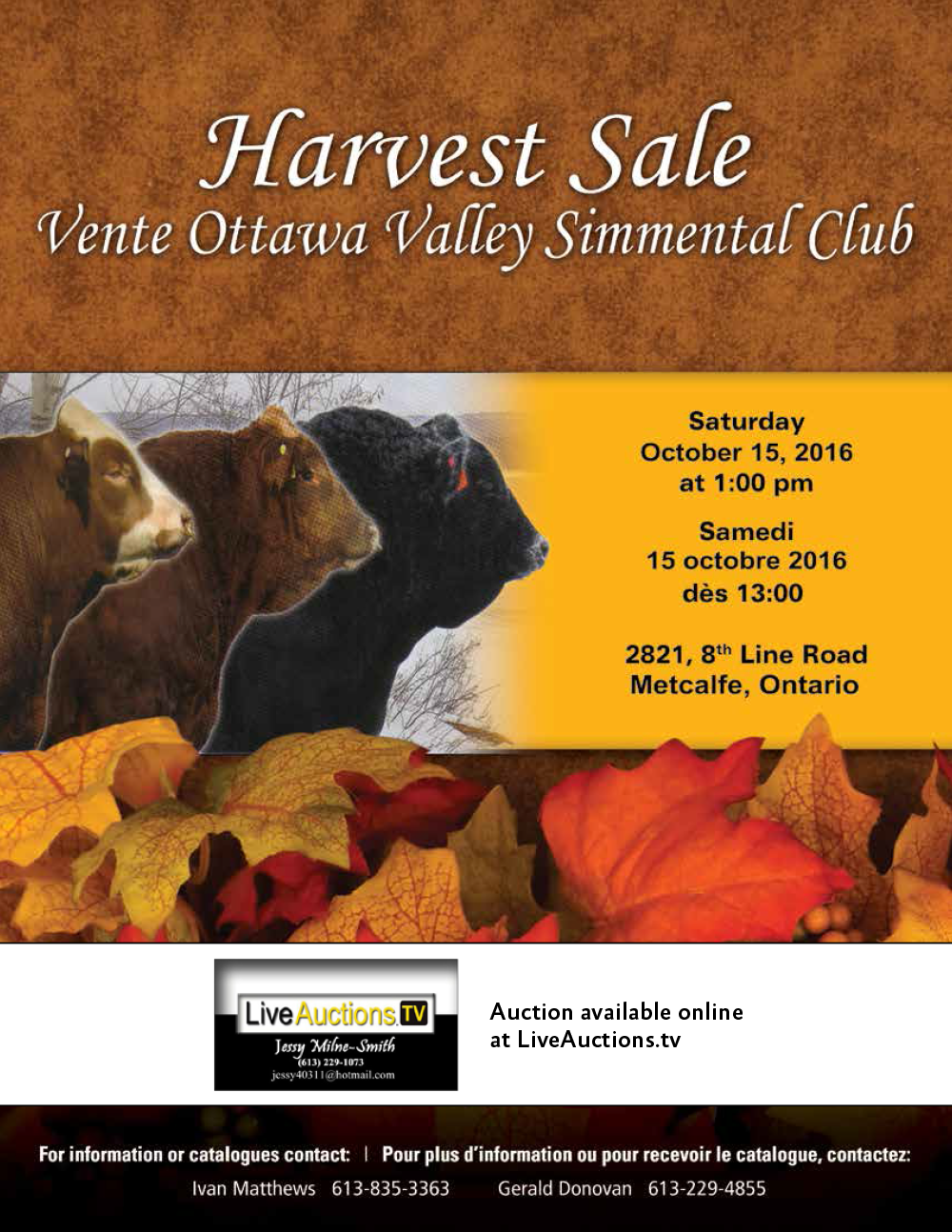 Harvest Sale cover