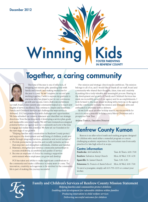 Winning Kids cover