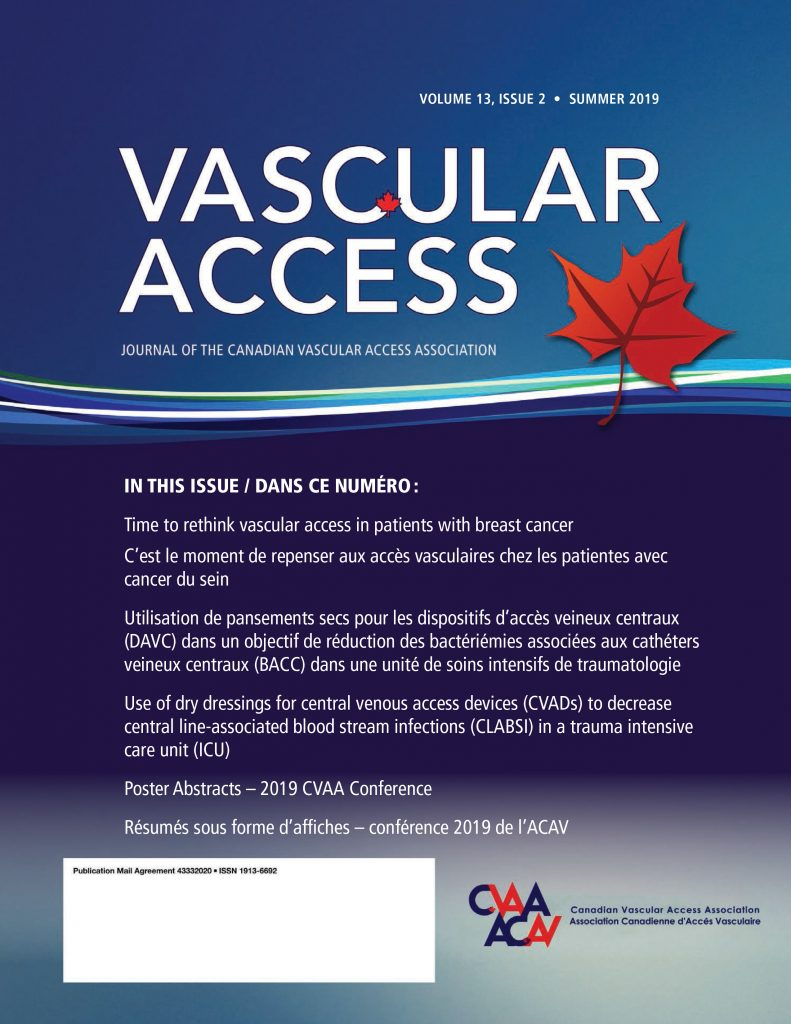 Vascular Access cover