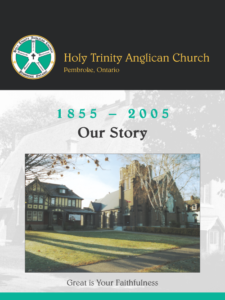 Holy Trinity Anglican Church anniversary book cover
